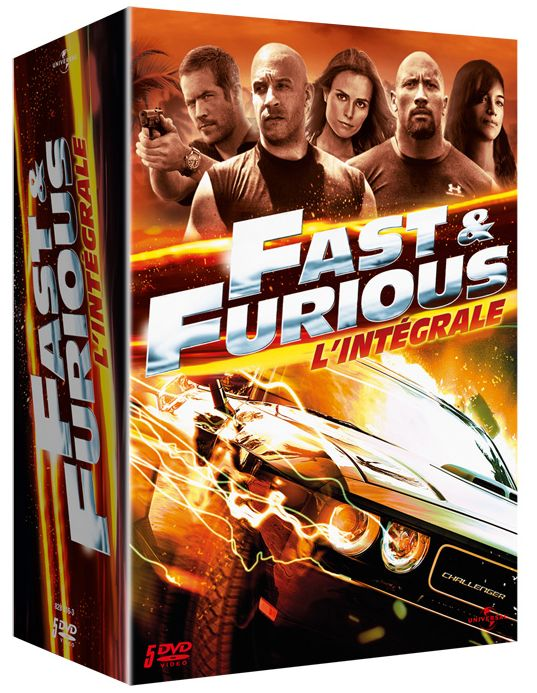 fast furious les films de 1 5 en coffret dvd et blu ray unification france. Black Bedroom Furniture Sets. Home Design Ideas