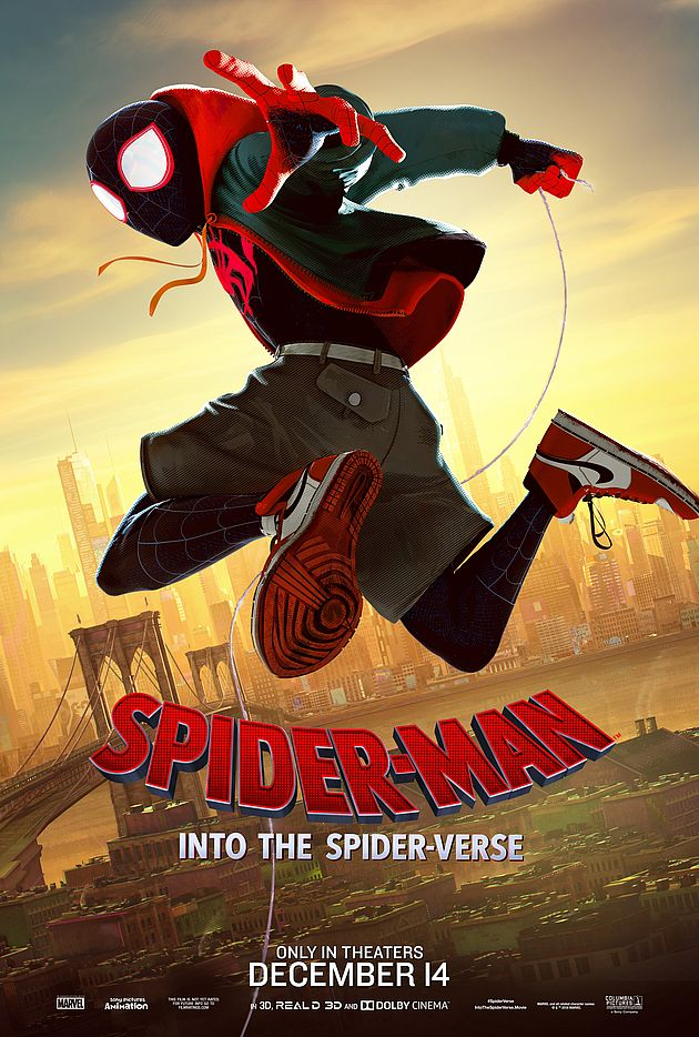 spiderman  new generation  les affiches personnages