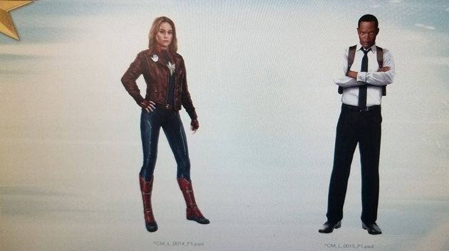 2019 Movie Photography Art: Avengers 4 / Captain Marvel : Le Look Des Héros Se Dévoile